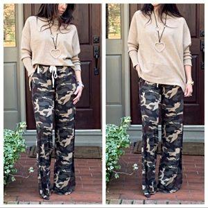 a351e821967b18 Pants   Camouflage Side Pocket Soft Wide Leg   Poshmark